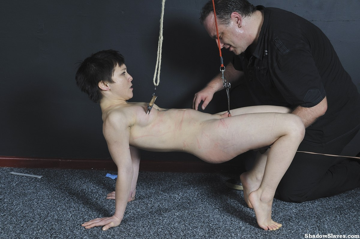 Asian Mei Maras extreme bdsm and slave girl